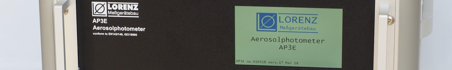 AP3E Aerosolphotometer